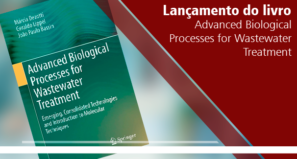 "Lançamento do livro ""Advanced Biological Processes for Wastewater Treatment"""